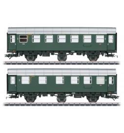 M043174 Para wagonów osobowych 2/3 klasy DB