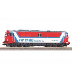 Piko 52866PS - Lok. spalinowa SU46-032 PKP Cargo, Z.T. w Czerwieńsku, DCC z dźwiękiem Piko Sound+E1+UPS