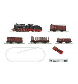 Roco 51318 - Cyfrowy zestaw startowy z21: Parowóz BR57 z pociągiem towarowym