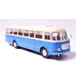 """Brekina 58255 - Autobus Jelcz 043 / Skoda 706 RTO beżowo-niebieski """"Ogórek"""""""