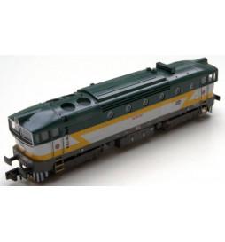 Lokomotywa spalinowa Nurek CD 753 006 (ex. T478.3) MTB-Model