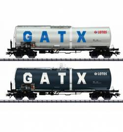 Trix 24213-2 - Zestaw 2 cystern GATX / Lotos