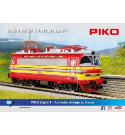 Piko 51382 - Elaktrowóz S499 CSD, DCC z dźwiękiem, ep. IV