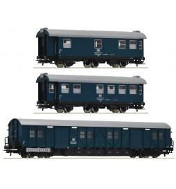 Roco 67198 - 3 piece set: Construction train