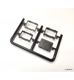 """Głośnik """"kostka cukru"""" 8Ω 1W, 15x11mm, z multifunkcyjną komorą rezonansową (ESU 50321)"""