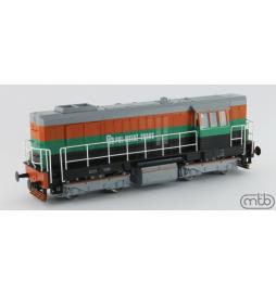 Lokomotywa spalinowa T448p-158 PMT Pol-Miedź Trans (ex. T466.2) - MTB-Model