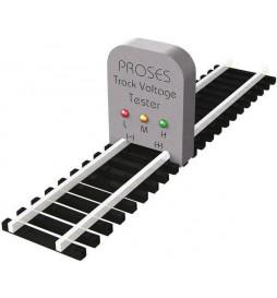 Przyrząd do szutrowania torów z odcięciem - Proses PBS-H0-04