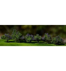 Freon KWIATYM - Kwiaty 5/7 mm Fioletowe, skala H0
