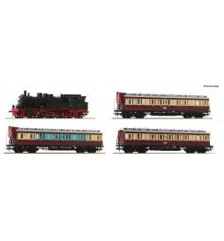 Roco 61477 - Zestaw BR 78 z 3 wagonami osobowymi Ruhr Schnellverkehr