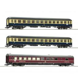 Roco 74181 - Zestaw 3 wagonów osobowych D 229 Johann Strauß