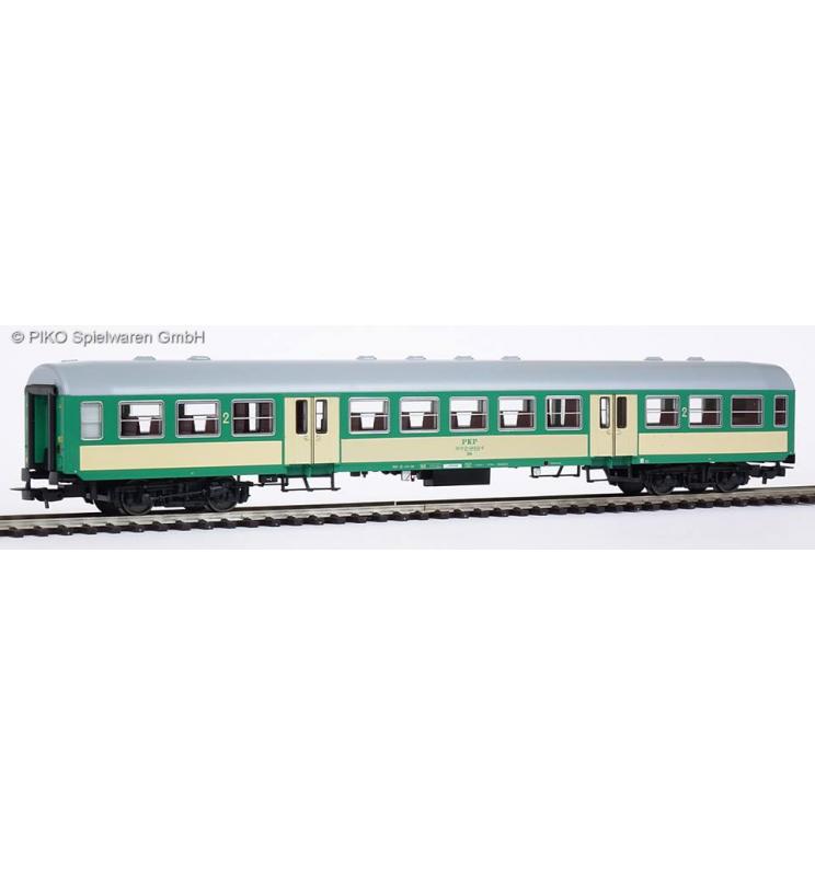 """Wagon pasażerski 2 klasy, 120A """"Bonanza"""" PKP, Grudziądz - Piko 96651"""