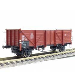 Exact-train EX20342 - Wagon towarowy odkryty Omm34 Klagenfurt, 301 319 Wddo PKP, Ep. III