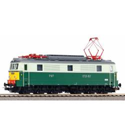 Piko 51600 - Elektrowóz ET21-157 PKP ep.IIIc-IVa, Lok. Kutno, DCC Zimo oraz UPS + światła E1