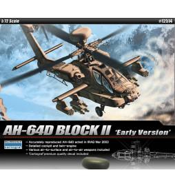 Academy 12514 - Samolot AH-64D Block II do sklejania, skala 1:72