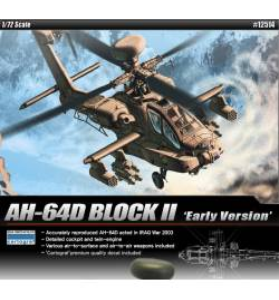 Academy 12514 - Śmigłowiec AH-64D Block II do sklejania, skala 1:72