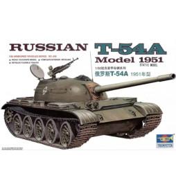 Trumpeter 00340 - Rosyjski czołg T-54A wersja 1951, do sklejania, skala 1:35