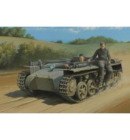 HobbyBoss 80144 - Niemiecki lekki czołg PzKpfw I Ausf. A ohne Aufbau, do sklejania, skala 1:35