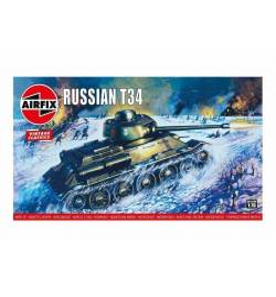 Airfix 664029 - Radziecki czołg T34/85, do sklejania, skala 1:76