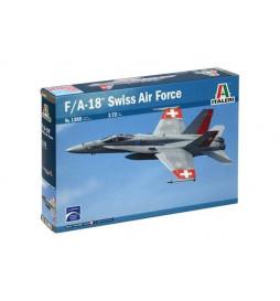 Italeri 1385 - F/A-18 HORNET SWISS AIR FORCE do sklejania, skala 1:72