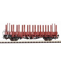 Piko 54458 - Wagon platforma z kłonicami (ex Ulm) PKP, ep. III