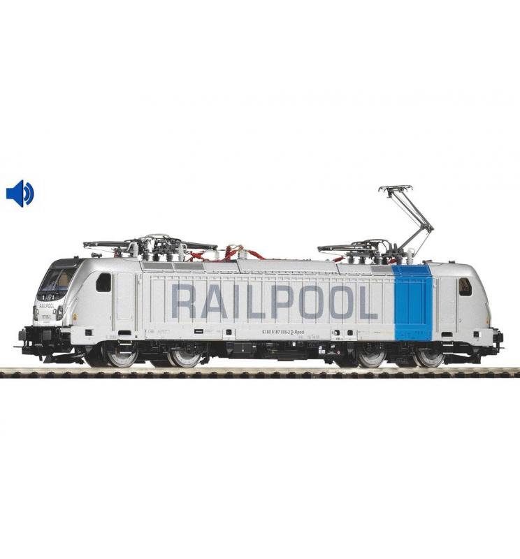Elektrowóz z dekoderem dźwiękowym, BR 187 Railpool ep. VI lastMile - Piko 51564
