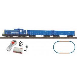 Piko 97937DS - Cyfrowy zestaw SmartControl® light PKP Cargo z SM42 DCC z dźwiękiem i wagonami towarowymi