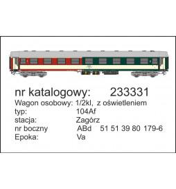Robo 222230 - Wagon 2 kl 111Ah typ Y, St. Kraków, ep. VI