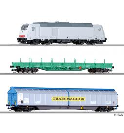 A Zestaw Pociąg towarowy, DB AG, ep.VI - Tillig TT 01428