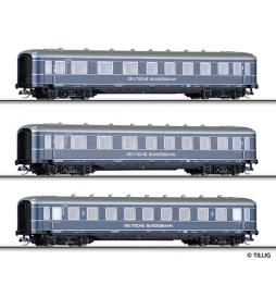 Set 3 wagonów osob. DB ep.III - Tillig TT 01595