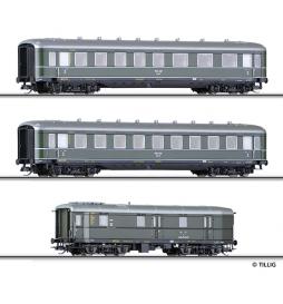 Zestaw wagonów osobowych, DRG ep.II - Tillig TT 01617