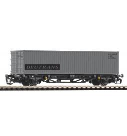 Piko 47723 - TT-Containertragwg. DR 1x40' Container Deutrans IV