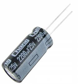 Kondensator UPS 2200uF 25V