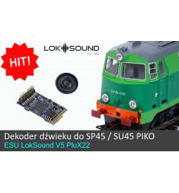 Dekoder dźwięku do EU07 Piko - ESU LokSound V4.0 PluX 22-pin (ESU 56497)