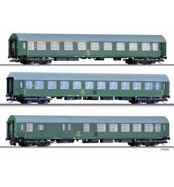 Zestaw wagonów osobowych, OSE ep.IV - Tillig TT 01697