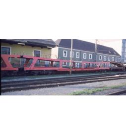 Zestaw wagonów do transportu aut, ÖBB ep.IV - Tillig TT 01702