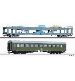 E15 Zestaw wagonów Drezno-Budapeszt 3, DR - Tillig TT 01703