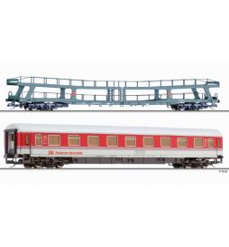 """Zestaw wagonów """"Rollende Raststaette"""", DB - Tillig TT 01704"""