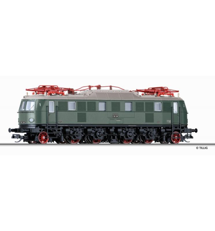 Elektrowóz E18 28, DB ep.III - Tillig TT 02457