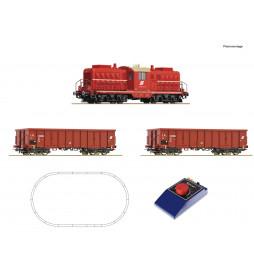 Roco 51334 - Analogue start set: Diesel locomotive class 2045 with goods train ÖBB, ep. IV