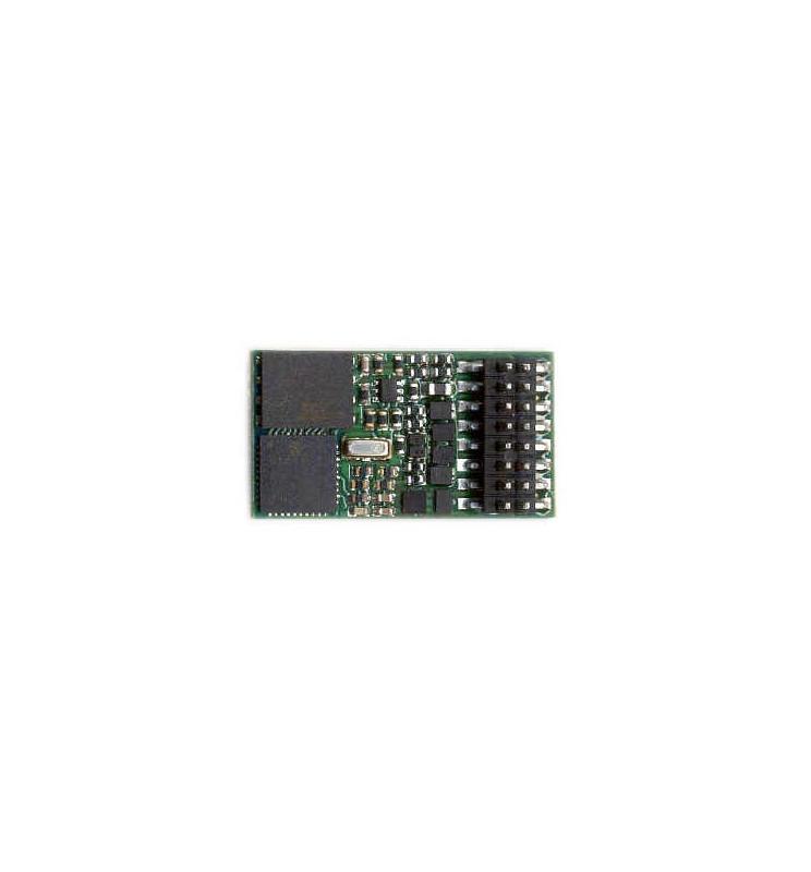 Dekoder jazdy i dźwięku MX648P16 (1W) DCC PluX16