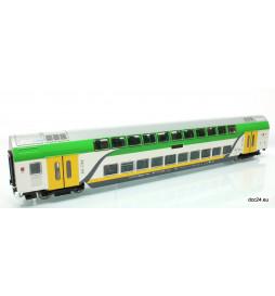 Roco 74161 - Wagon piętrowy Kolei Mazowieckich z oświetleniem