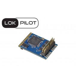 Dekoder jazdy i oświetlenia do ST44 Piko (oświetlenie E1 PKP) - ESU LokPilot V4.0 DCC PluX 22-pin