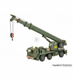 Kibri 18043 - H0 Military LIEBHERR mobile crane LTM 1050/3