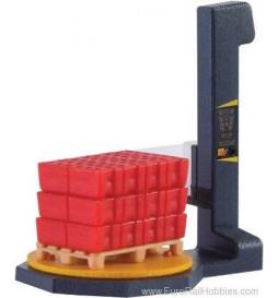 Kibri 38677 - H0 Pallet wrapping machine
