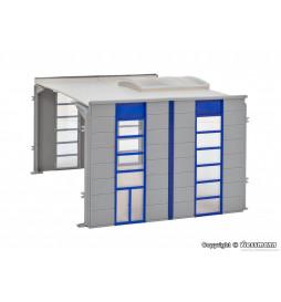 Kibri 39251 - H0 Extension setfor warehouse / industrial hall 39250