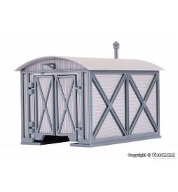 Vollmer 47610 - N Loco shed for Köf, single track
