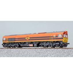ESU 31287 - Diesellok H0, C66 Rail Feeding 561-05, Ep VI, Vorbildzustand um 2016, Orange Sound+Rauch, DC/AC