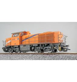 ESU 31303 - Lok. spalinowa G1000, 1271 026-7 Northrail, Ep VI, dźwięk, sprzęgi automatyczne, DCC