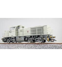 ESU 31304 - Diesellok, H0, G1000, FB 1487 ECR, Hellgrau, Ep VI, Vorbildzustand um 2007, Sound, Rangierkupplung, DC/AC
