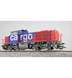 ESU 31305 - Diesellok, H0, G1000, Am 842 102-6 SBB Cargo, Rot/Blau, Ep V, Vorbildzustand um 2004, Sound, Rangierkupplung, DC/AC